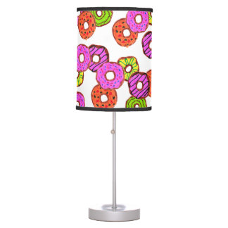 colorful frosted donuts doughnut with sprinkles table lamp