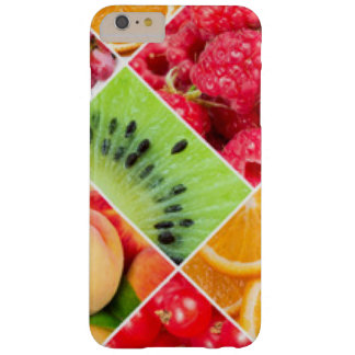 Colorful Fruit Collage Pattern Design Barely There iPhone 6 Plus Case
