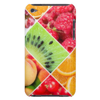 Colorful Fruit Collage Pattern Design iPod Case-Mate Case