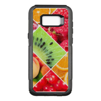 Colorful Fruit Collage Pattern Design OtterBox Commuter Samsung Galaxy S8+ Case