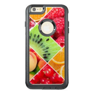 Colorful Fruit Collage Pattern Design OtterBox iPhone 6/6s Plus Case