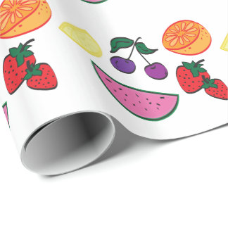 Colorful Fruit Summer Pattern, Cool