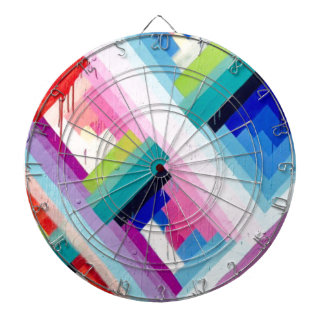 COLORFUL FUN DESIGN DARTBOARD