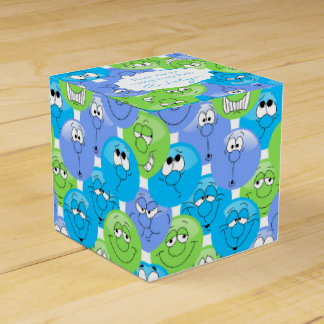 Colorful Fun Emoji Design Favor Box