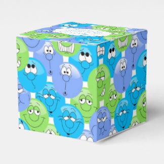 Colorful Fun Emoji Design Favor Box
