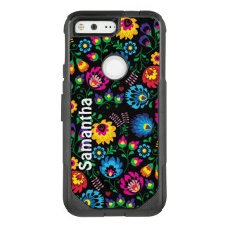 Colorful Fun Flowers OtterBox Google Pixel Case