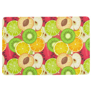 Colorful Fun Fruit Pattern Floor Mat