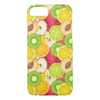 Colorful Fun Fruit Pattern iPhone 8/7 Case