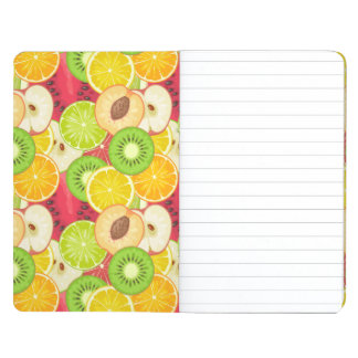 Colorful Fun Fruit Pattern Journal