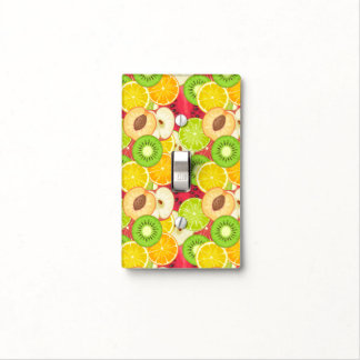 Colorful Fun Fruit Pattern Light Switch Cover
