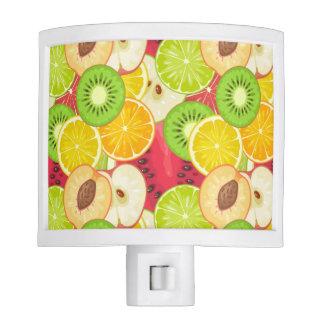 Colorful Fun Fruit Pattern Night Lights