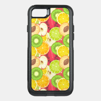 Colorful Fun Fruit Pattern OtterBox Commuter iPhone 8/7 Case