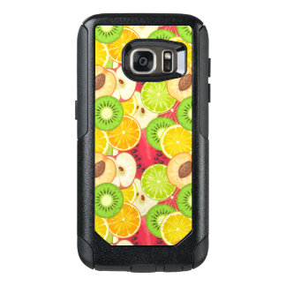 Colorful Fun Fruit Pattern OtterBox Samsung Galaxy S7 Case