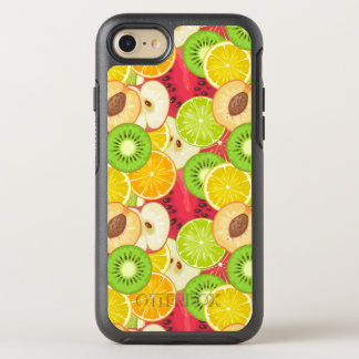 Colorful Fun Fruit Pattern OtterBox Symmetry iPhone 8/7 Case