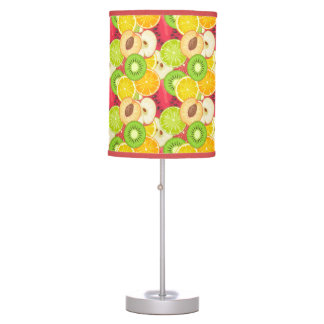 Colorful Fun Fruit Pattern Table Lamp