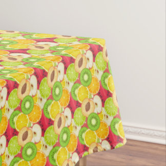 Colorful Fun Fruit Pattern Tablecloth