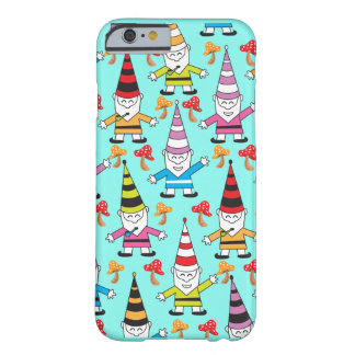 Colorful Funky Gnomes with toadstools Barely There iPhone 6 Case