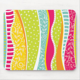 Colorful Funky Mousepad