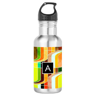 Colorful Funky Retro Inspired 532 Ml Water Bottle