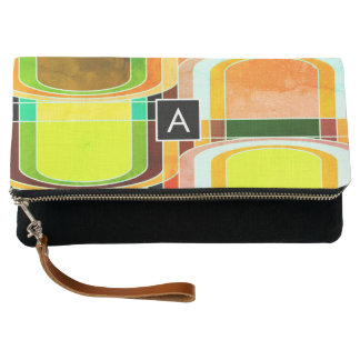 Colorful Funky Retro Inspired Clutch