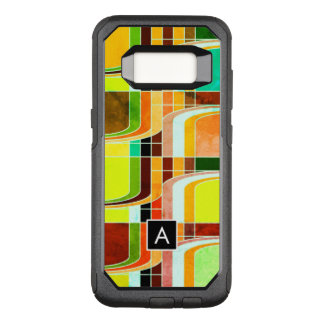 Colorful Funky Retro Inspired OtterBox Commuter Samsung Galaxy S8 Case