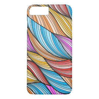 Colorful Fur Design iPhone 7 Plus Case