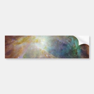 Colorful Galaxy Car Bumper Sticker