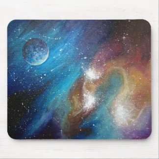 Colorful Galaxy Mousepad