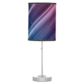Colorful galaxy table lamp