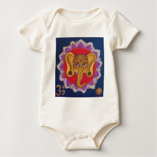Colorful Ganesha Baby Bodysuit