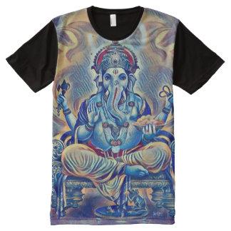Colorful Ganesha God Airbrush Indie Art