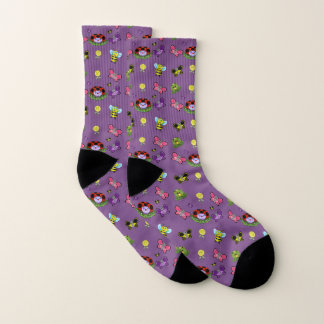 Colorful Garden All Over Socks 1