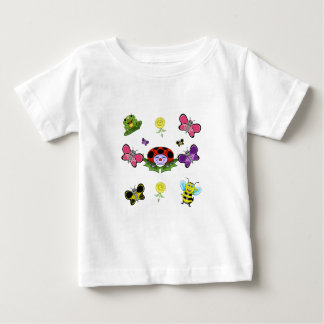 Colorful Garden Baby T-shirt