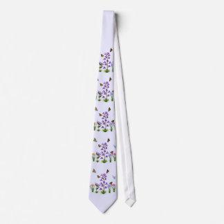 Colorful Garden Fantasy Customizable Monogram Tie