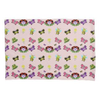 Colorful Garden Pillow Case