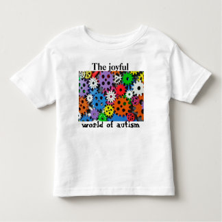 Colorful gears Joyful world of autism shirt