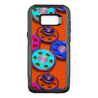 Colorful Gears OtterBox Commuter Samsung Galaxy S8+ Case