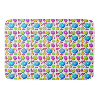 Colorful Gems Pattern Bath Mat