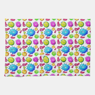 Colorful Gems Pattern Kitchen Towel