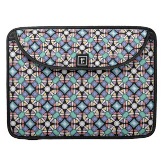 Colorful Gems Pattern Macbook Sleeve