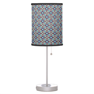 Colorful Gemstone Pattern Table Lamp