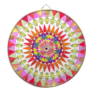 Colorful Geo' Dartboard