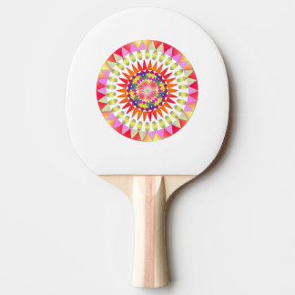 Colorful Geo' Ping Pong Paddle