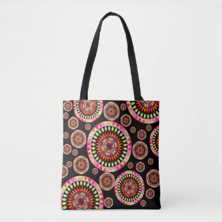 Colorful Geo' Tote Bag