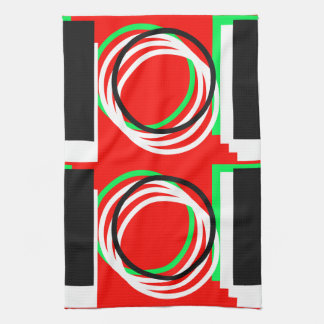 Colorful Geometric 4Lucas Kitchen Towel