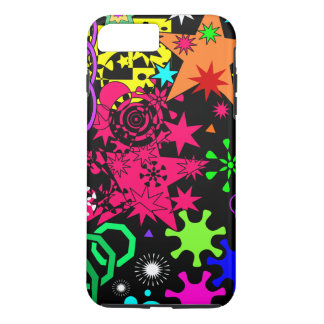 Colorful Geometric Abstract Art iPhone 8 Plus/7 Plus Case