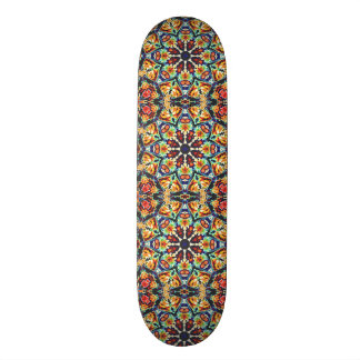Colorful Geometric Abstract Custom Skate Board