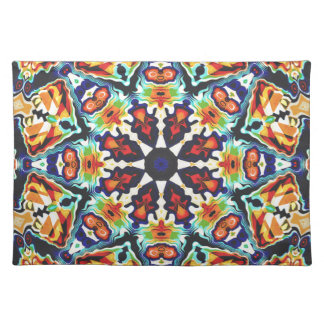 Colorful Geometric Abstract Placemat