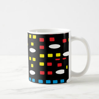 Colorful geometric coffee mug