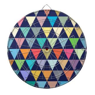 Colorful geometric dartboard